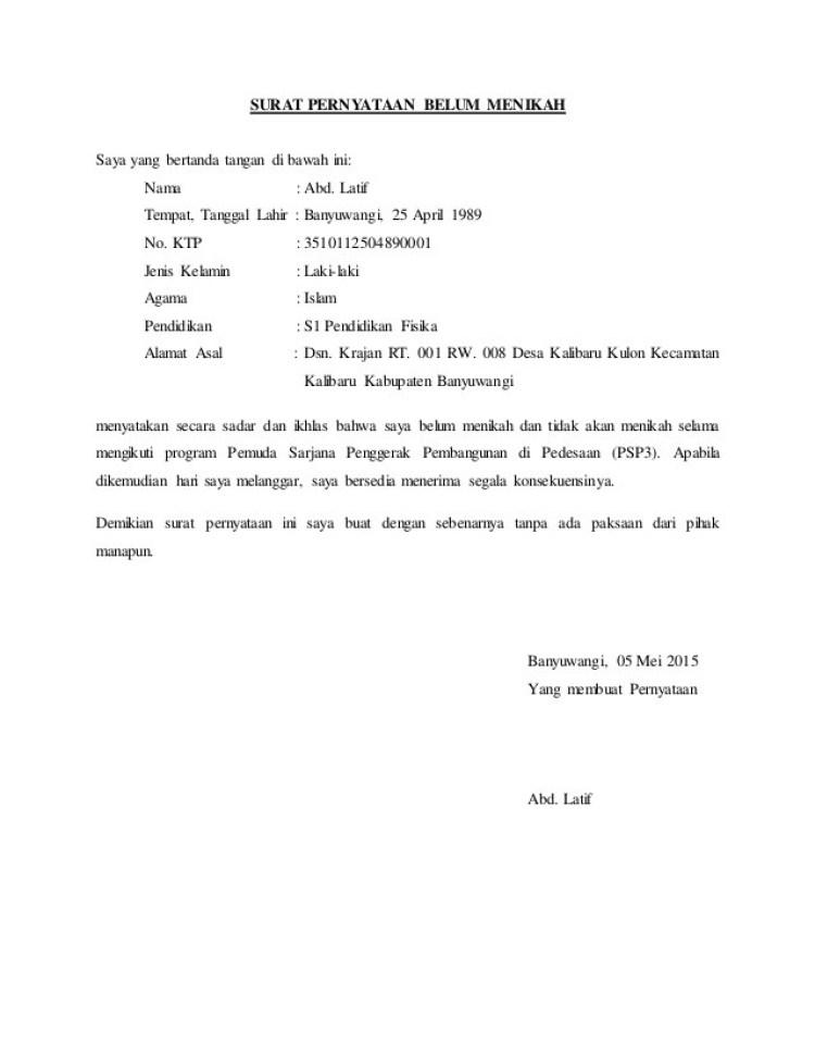 Berbagai Contoh Surat Pernyataan dan Tujuan Dibuatnya