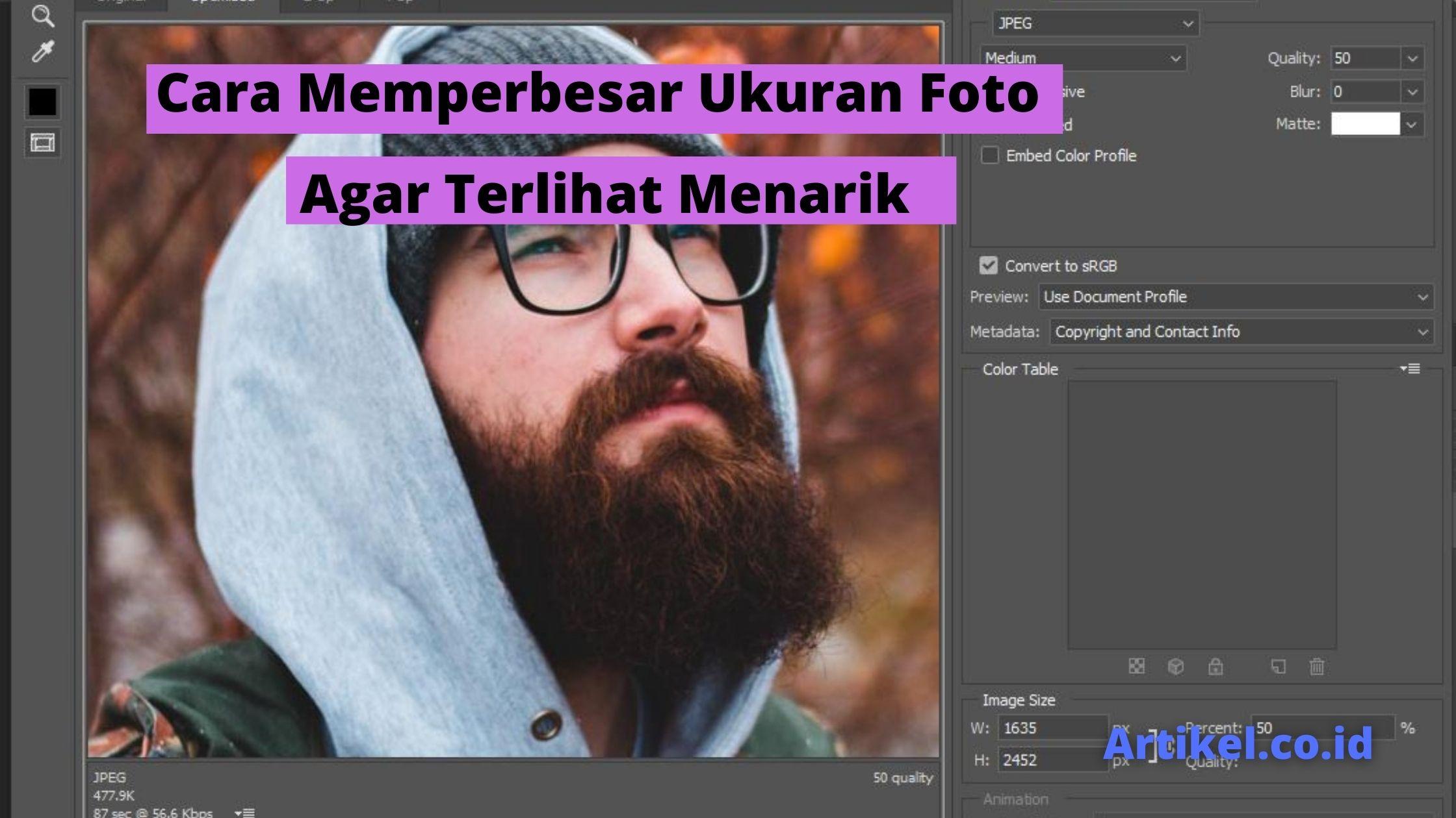 Read more about the article Cara Memperbesar Ukuran Foto Agar Terlihat Menarik